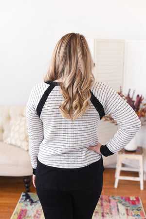 Clarissa Striped Top
