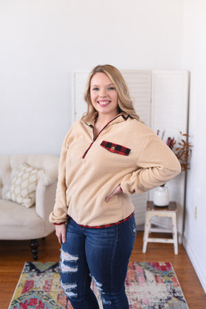 Nellie Half-Zip Fleece Sweater