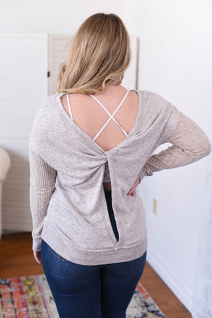 Cassia Open Back Top