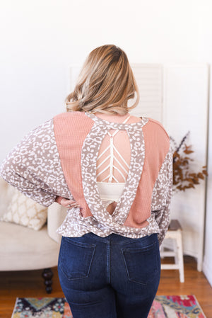 Polly Open Back Top