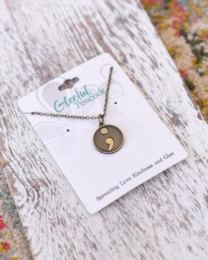 Reminder Token Necklace