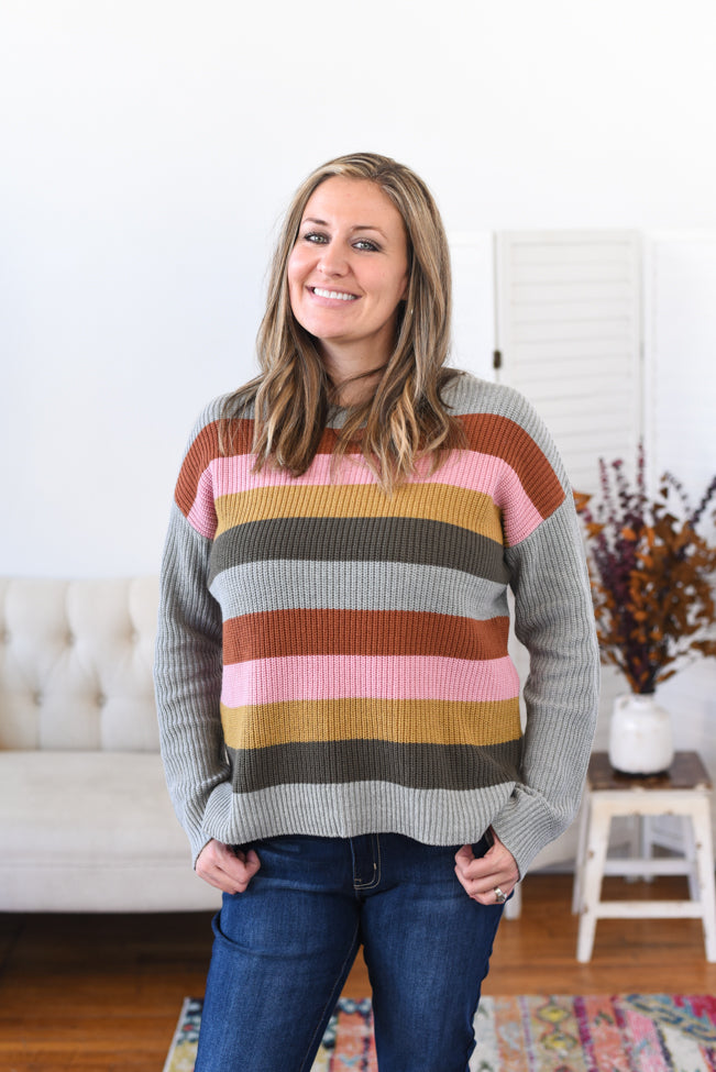Keziah Striped Sweater
