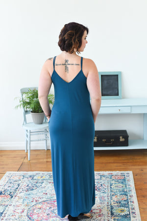 Emilee Everyday Maxi Dress - Teal