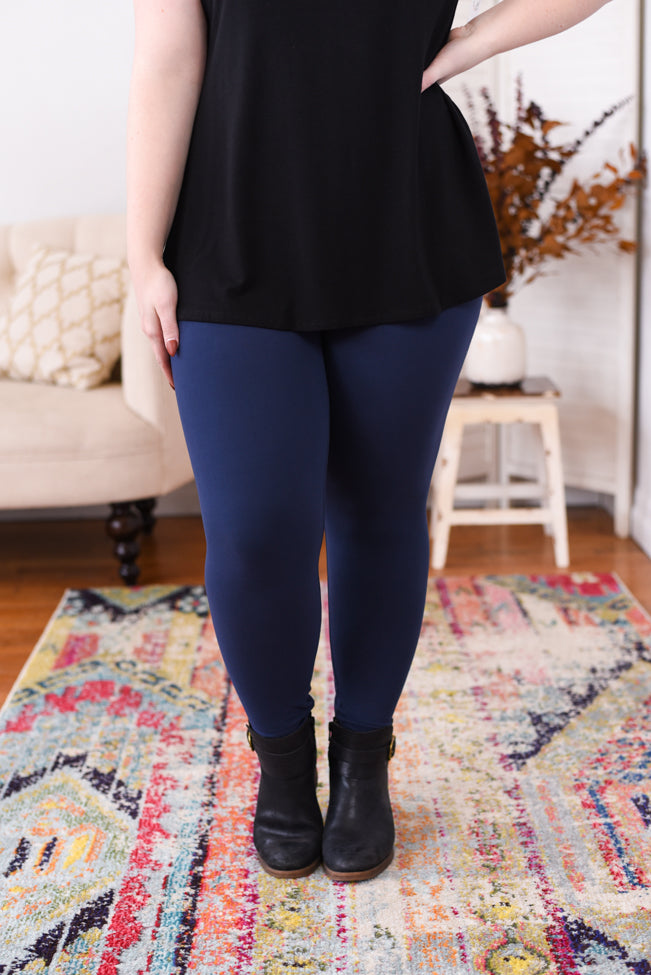 Live In Leggings - Navy