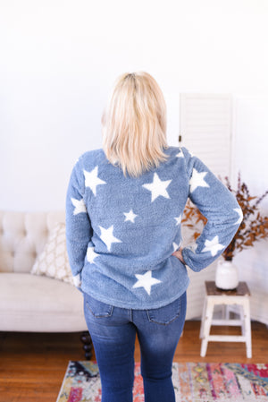 Starry Night Fleece Pullover
