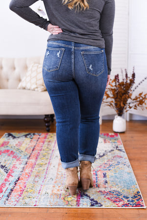 Hunter High Rise Boyfriend Judy Blue Jeans