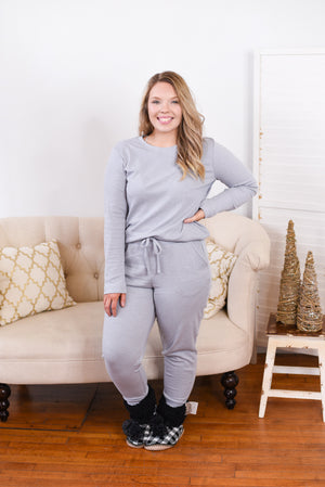 Let's Stay In Luxe Jogger Set *Black Friday Deal*