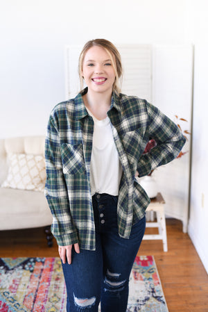 Katya Flannel Shacket