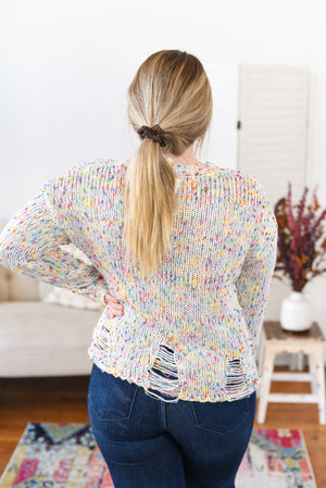 Everlee Confetti Knit Sweater