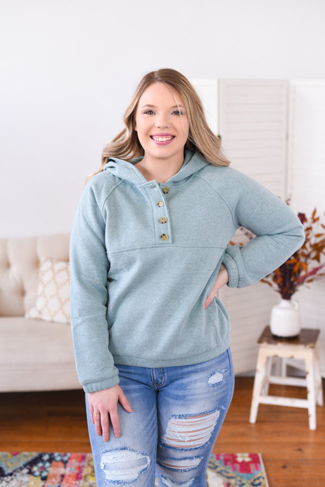 Clare Fleece Lined Pull Over