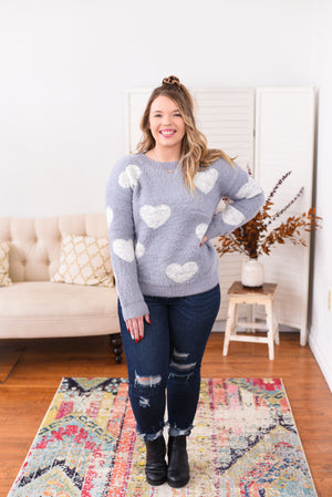 Peyton Heart Sweater