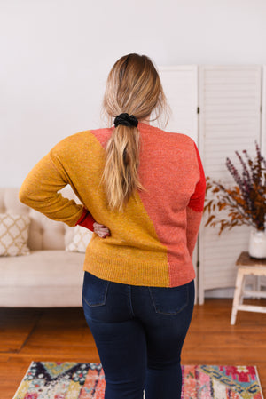 Kali Color Block Sweater
