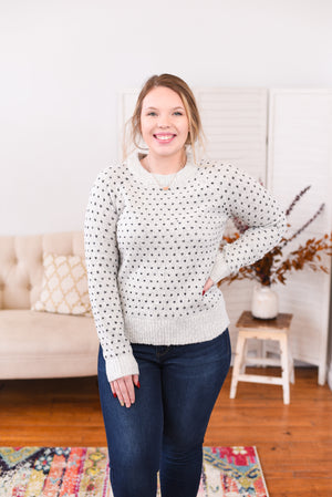 Averee Stitched Sweater