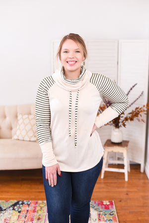 Brynlee Cowl Neck Sweater