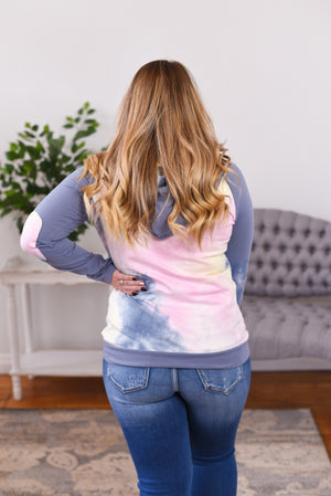 Anna Tie-Dye Double Hoodie