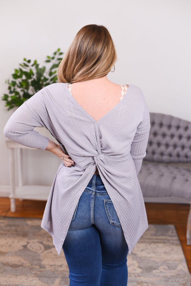 Mariah Open Back Top
