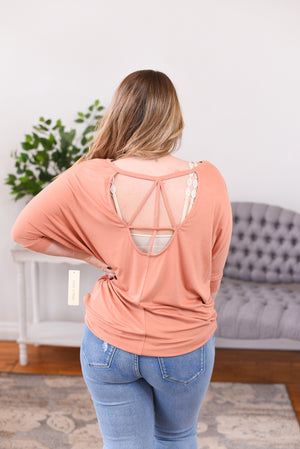 Abby Open Back Top