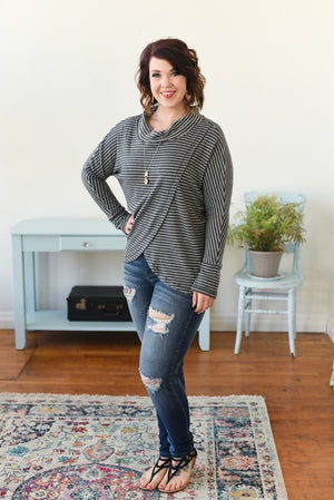 Sophia Sweater - Blue Ash