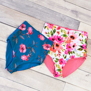 REVERSIBLE Ultra High-Rise Swim Bottoms