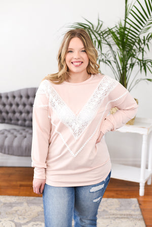 Phebe Crochet Top