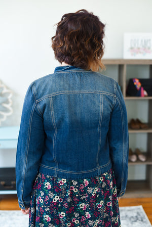 Abbie Fitted Denim Jacket