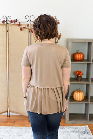 Laurrel Swing Top - Mocha