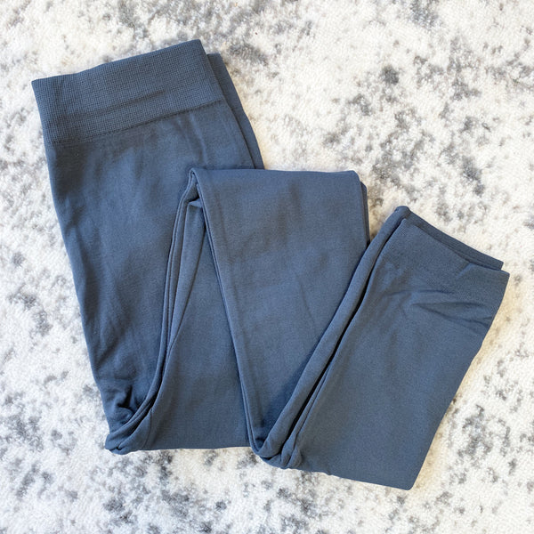 Fleece Lined Leggings - Charcoal