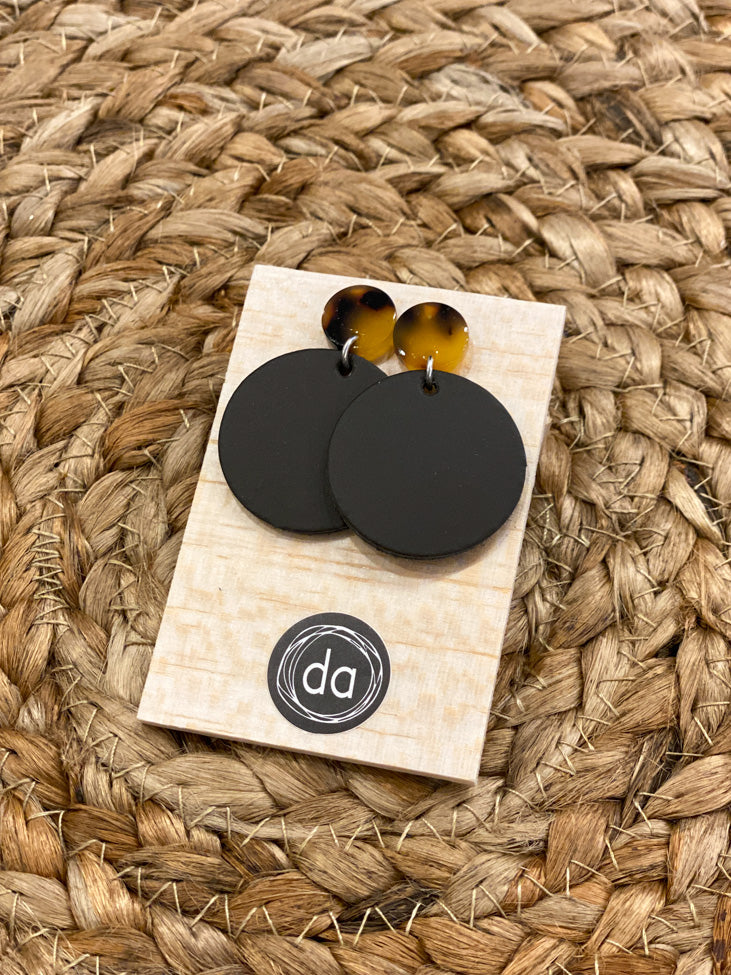 Deer Addie Small Leather Earring