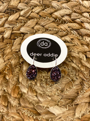 Deer Addie Druzy Dangle Earring