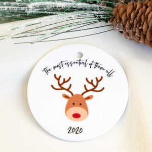 2020 Funny Christmas Ornaments