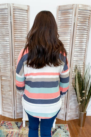 Pipah Striped Pullover