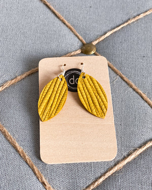Small Leather Earring