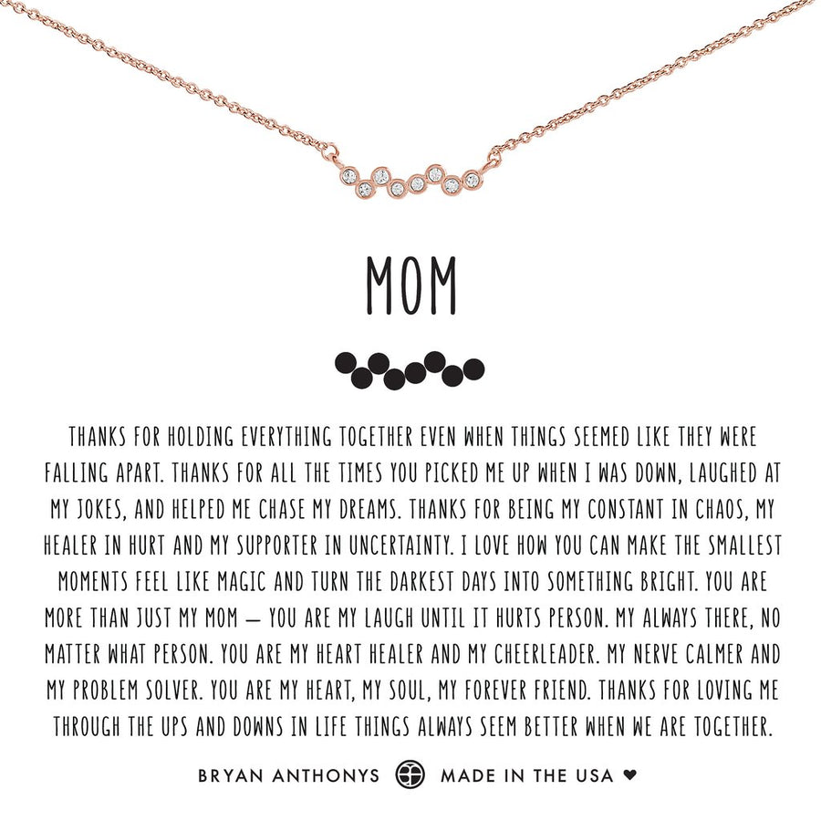 Mom Necklace by Bryan Anthonys