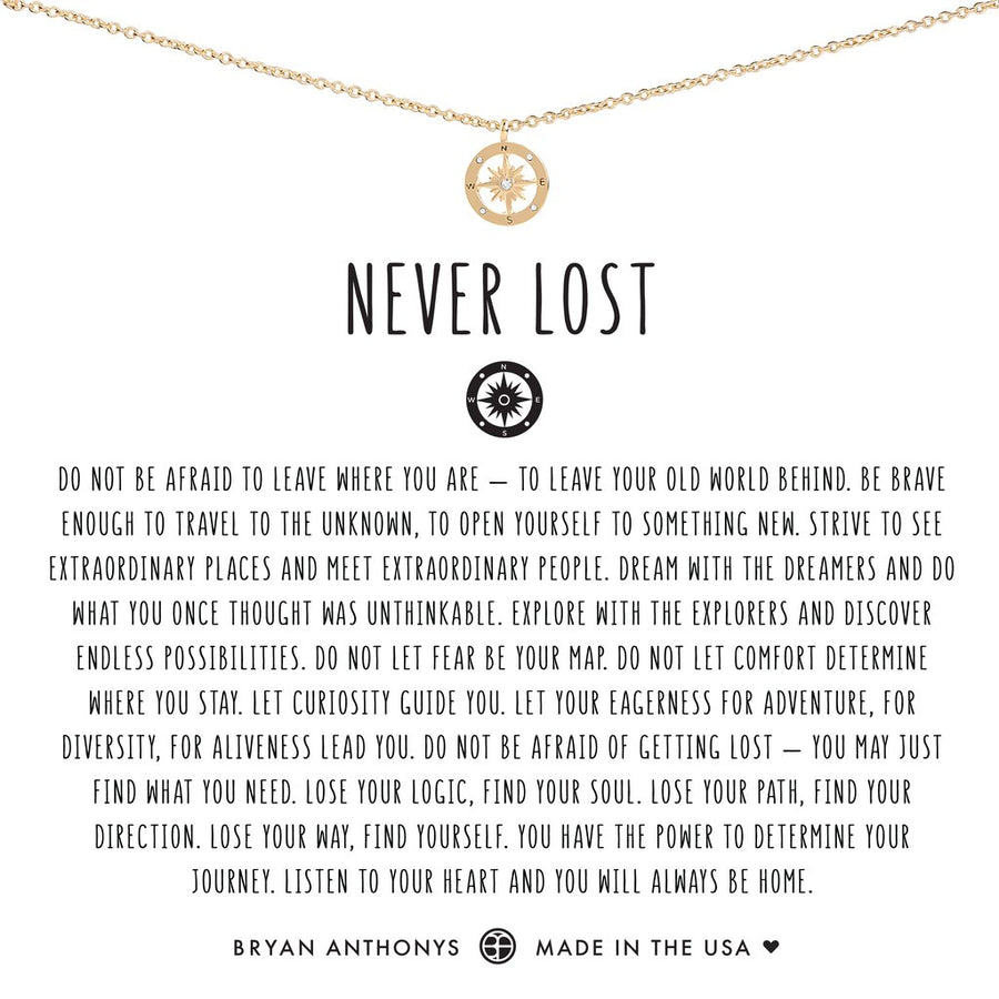 Never Lost Necklace by Bryan Anthonys