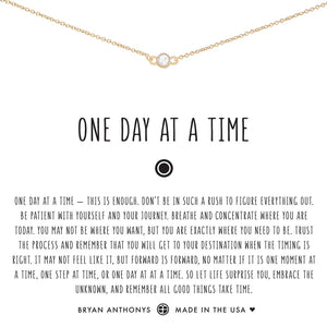 One Day at a Time Choker by Bryan Anthonys