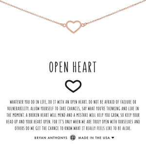 Open Heart Choker by Bryan Anthonys