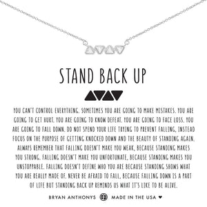 Stand Back Up Necklace by Bryan Anthonys