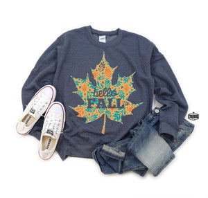Hello Fall Graphic Sweatshirt