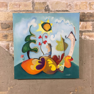 SOLD Let it Grow | sold smigielski painting