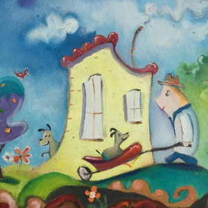 Wheelbarrow Ride (SOLD)
