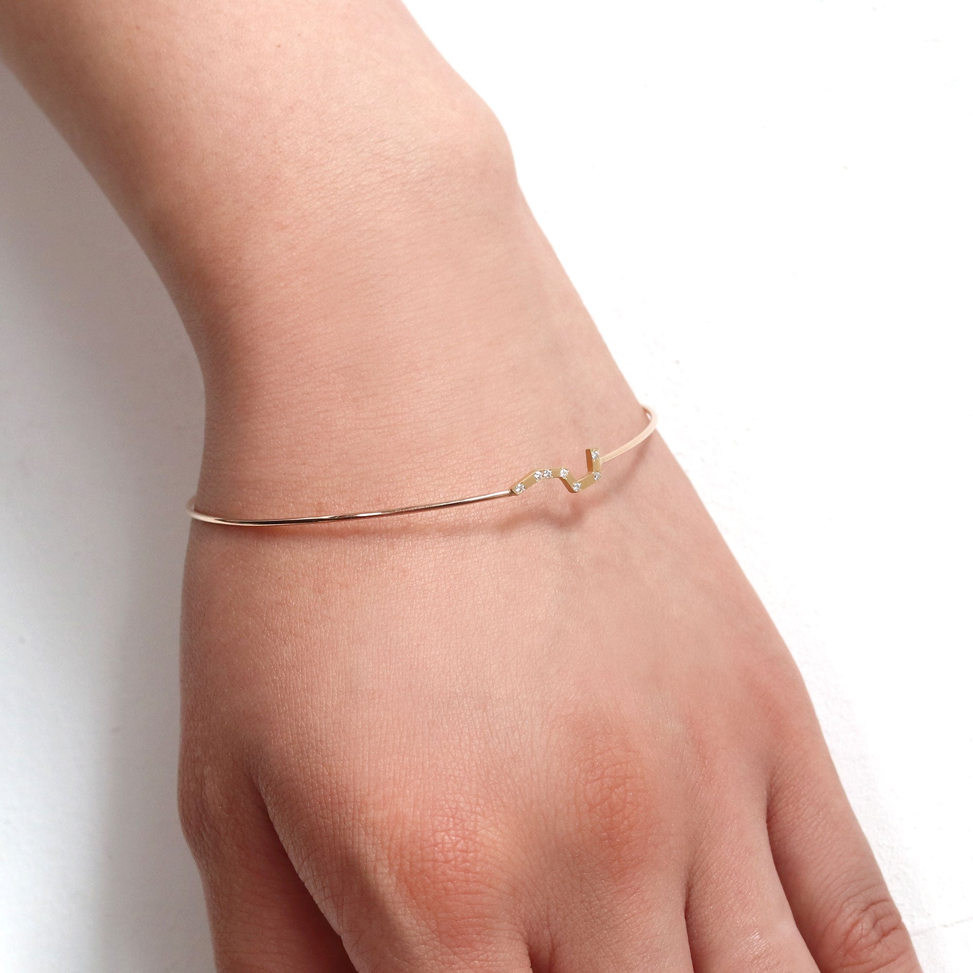 Big Dipper deco bangle