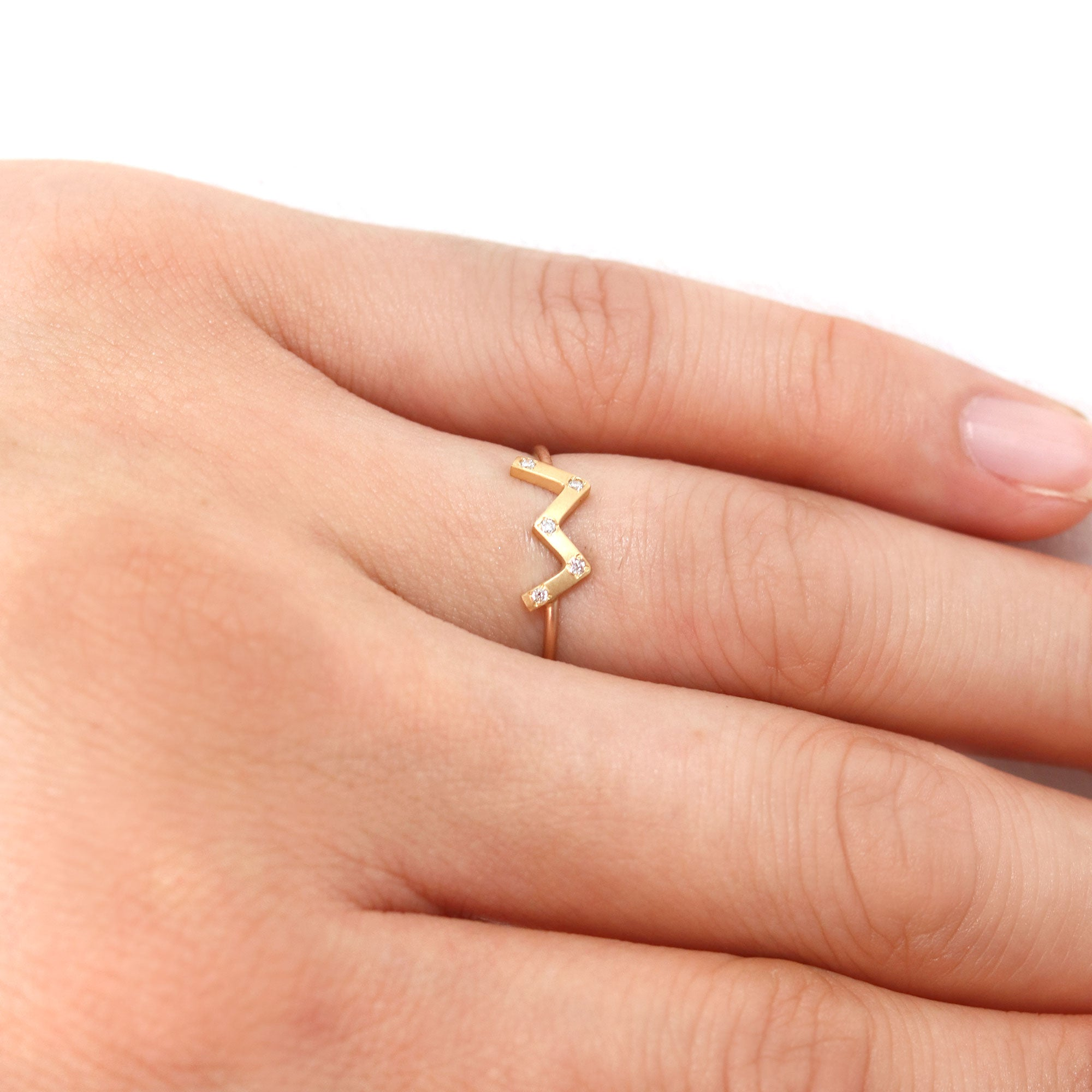 Cassiopeia deco ring