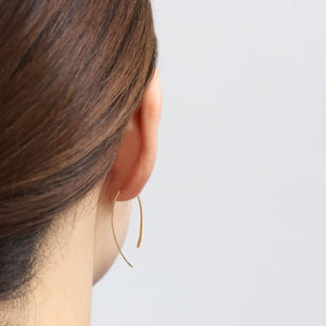 hair line long earing