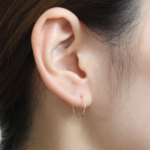 hair line short earring