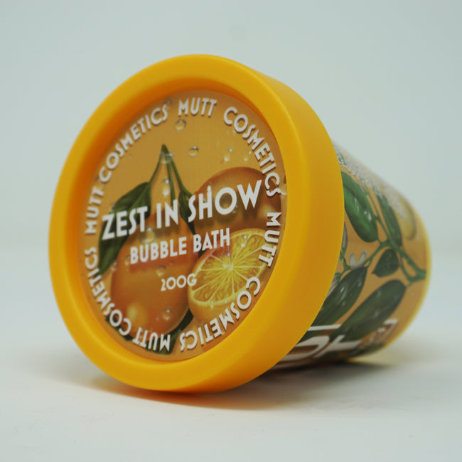 Zest In Show - Orange & Vanilla - Dog Bubble Bath