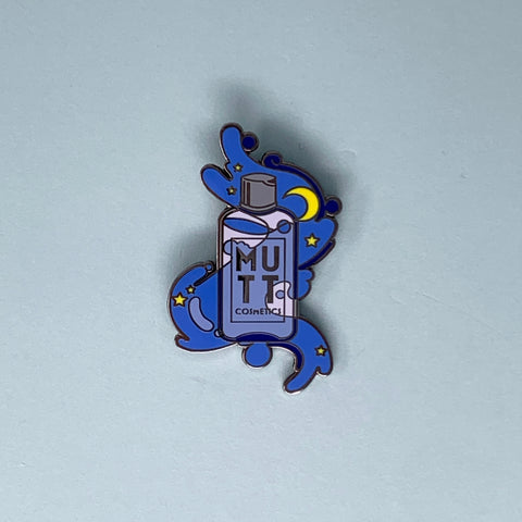 Mutt Cosmetics Bottle Pin