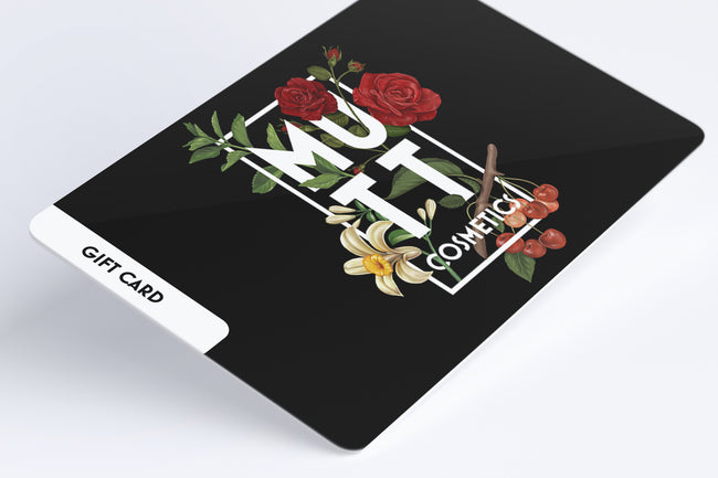 Mutt Cosmetics Gift Cards ($25-$250)