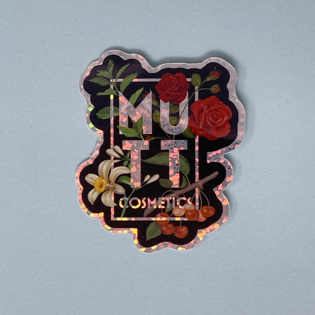 Mutt Cosmetics Logo Sticker