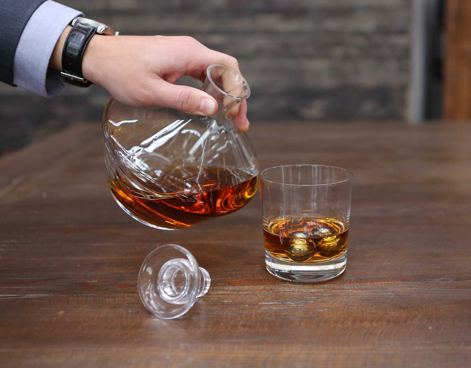 Balls of Steel Whiskey Chillers by BOS Drinkware