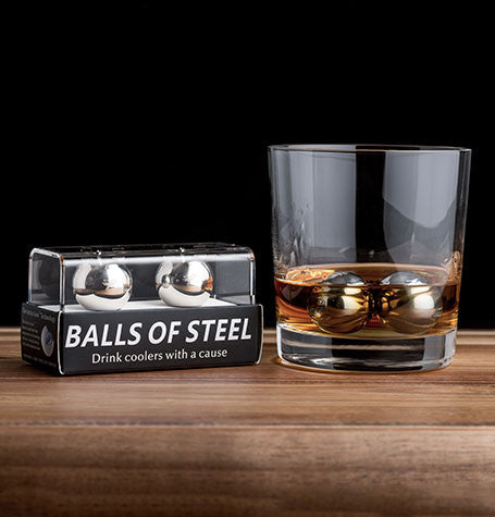 Balls of steel non diluting whiskey chillers for Balls of steel